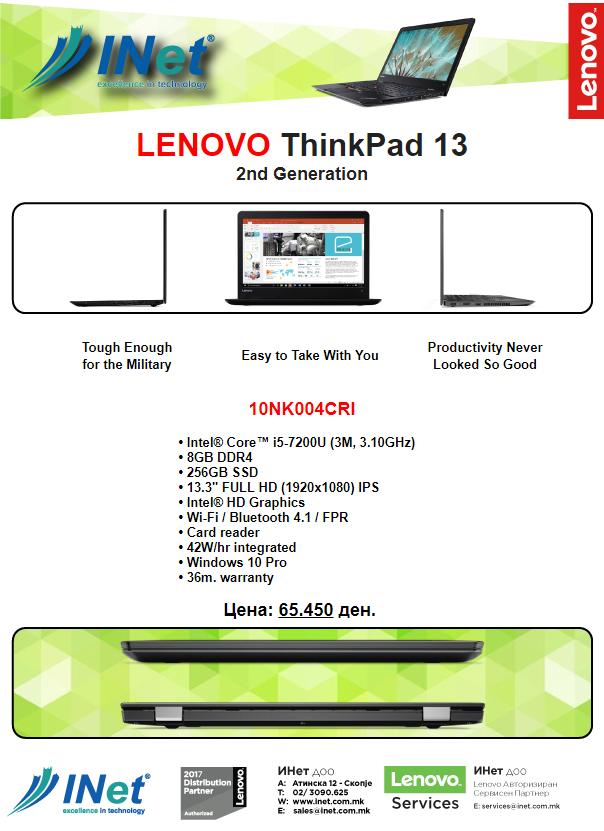 ThinkPad 13 Promo